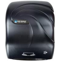 San Jamar T7090TBK Simplicity Oceans Hands Free Paper Towel Dispenser - Black Pearl