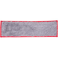 Unger DD40R SmartColor Red Dry / Damp 13.0 Mop Pad - 19 1/2 inch