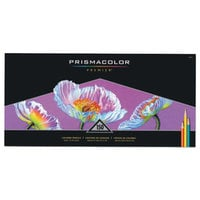 Prismacolor 1799879 Premier 150 Assorted Woodcase Barrel 3mm Soft Lead Colored Pencils