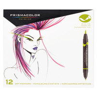 Prismacolor 1773297 Assorted 12-Count Premier Double-Ended Markers