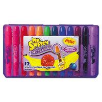 Mr. Sketch 1951333 Assorted 12 Color Scented Gel Crayon Pack