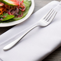 Chef & Sommelier T4729 Lazzo 7 1/4 inch 18/10 Stainless Steel Extra Heavy Weight Salad Fork by Arc Cardinal - 36/Case