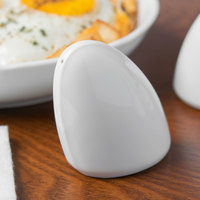Schonwald 9194020 Avanti Gusto 2 1/2 inch Continental White Porcelain Pepper Shaker - 24/Case