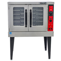 Vulcan VC5GDL Liquid Propane Single Deck Full Size Convection Oven with Legs - 50,000 BTU