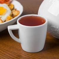 Schonwald 9305159 Event 3.5 oz. Continental White Porcelain Espresso Cup - 12/Case
