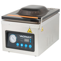 VacPak-It VMC10OP Chamber Vacuum Packaging Machine with 10 1/4 inch Seal Bar and Oil Pump