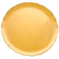 Thunder Group RF1018G 18 inch Gold Pearl Plate - 2/Pack