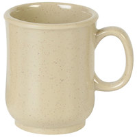 Thunder Group ML901S 8 oz. Nustone Sand Bulbous Mug - 12/Pack