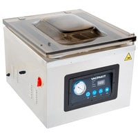 VacPak-It VMC32 Chamber Vacuum Packaging Machine with Two 16 inch Seal Bars and Oil Pump