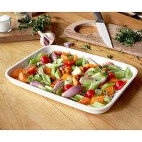 Villeroy & Boch 13-6021-3016 Cooking Elements 12 1/2 inch x 6 5/8 inch White Porcelain Rectangular Serving Plate / Lid - 6/Case