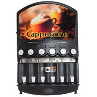 Grindmaster PIC6 Six Flavor Powdered Specialty Beverage Dispenser