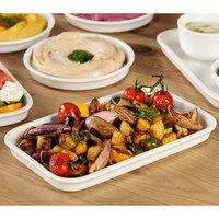 Villeroy & Boch 13-6021-3017 Cooking Elements 10 1/4 inch x 6 1/4 inch White Porcelain Rectangular Serving Plate / Lid - 6/Case