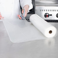 VacPak-It 11 1/2 inch x 50' Roll of Full Mesh External Vacuum Packaging Bags 3 Mil