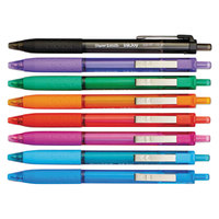 Paper Mate 1945926 InkJoy 300 RT Assorted Ink with Assorted Barrel Color 1mm Retractable Ballpoint Pen   - 24/Pack