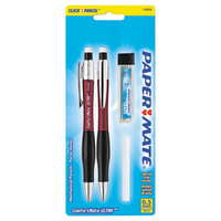 Paper Mate 1738795 ComfortMate Ultra Assorted Barrel Color 0.5mm HB Lead #2 Mechanical Pencil - 2/Set