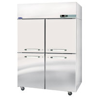 Nor-Lake NR524SSS/0X Nova 55 inch Solid Half Door Reach-In Refrigerator - 51.9 Cu. Ft.