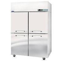 Nor-Lake NR524SSS/0 Nova 55 inch Solid Half Door Reach-In Refrigerator - 51.9 Cu. Ft.