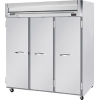 Beverage-Air HFP3-5S Horizon Series 78 inch Solid Door Reach-In Freezer
