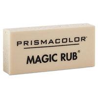 Prismacolor 73201 Magic Rub White Vinyl Eraser - 12/Pack