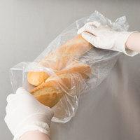 Inteplast Group PB050418 5 inch x 4 inch x 18 inch Plastic Bread Bag - 1000/Case