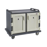 Cambro MDC1520S20191 Granite Gray Meal Delivery Cart 20 Tray