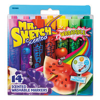 Mr. Sketch 1924061 14 Assorted Chisel Tip Washable Markers