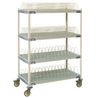 Metro PR48X4 MetroMax i Stationary Drying Rack - 24 inch x 48 inch x 75 1/2 inch