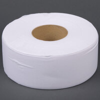 Lavex Janitorial 1-Ply Jumbo Toilet Paper Roll with 9 inch Diameter - 12 / Case