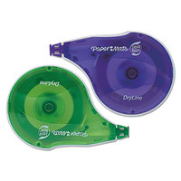 Paper Mate 6137406 Liquid Paper DryLine 1/6 inch x 472 inch Correction Tape - 10/Pack