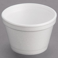 Dart 3.5J6 3.5 oz. White Foam Food Bowl - 50/Pack