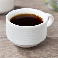Villeroy & Boch 16-4003-1451 Sedona Function 3.5 oz. White Porcelain Cup - 6/Case