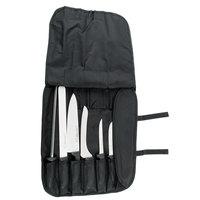 Dexter-Russell 20713 SofGrip 7-Piece Black Handle Cutlery Set