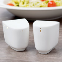 Villeroy & Boch 16-4004-3490 Affinity White Porcelain Salt and Pepper Shaker Set - 6/Pack