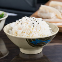 Thunder Group 3005J Wei 9 oz. Round Melamine Rice Bowl - 12/Case