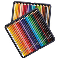 Prismacolor 3598THT Premier 48 Assorted Woodcase Barrel 3mm Soft Core Colored Pencils