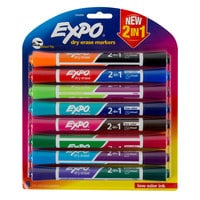 Expo 1944658 2-in-1 Assorted 16-Color Chisel Tip Dry Erase Marker Set