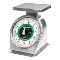 Rubbermaid Pelouze 605SRW 5 lb. Portion Control Scale - Dishwasher Safe (FG605SRW)