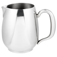 Vollrath 46633 Orion 8 oz. Mirror-Finished Stainless Steel Open Creamer
