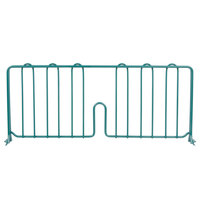 Metro DD21-DHG 21 inch Hunter Green Wire Shelf Divider