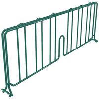 Metro DD21-DHG 21 inch Hunter Green Wire Shelf Divider