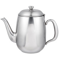 Vollrath 46596 Orion 68 oz. Mirror-Finished Stainless Steel Coffee / Tea Pot