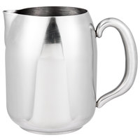 Vollrath 46634 Orion 68 oz. Mirror-Finished Stainless Steel Water Pitcher