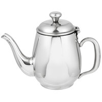 Vollrath 46593 Orion 12 oz. Mirror-Finished Stainless Steel Coffee / Tea Pot