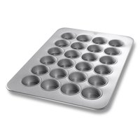 Chicago Metallic 45265 24 Cup Glazed Oversized Texas Muffin Pan - 17 7/8 inch x 25 7/8 inch
