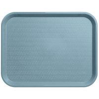 Carlisle CT141859 Cafe 14 inch x 18 inch Slate Blue Standard Plastic Fast Food Tray