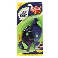 Paper Mate 87813 Liquid Paper DryLine Grip 1/5 inch x 335 inch Correction Tape - 2/Pack