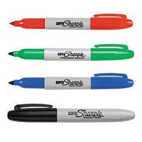 Sharpie 33074 Super Assorted 4-Color Fine Point Permanent Marker Set