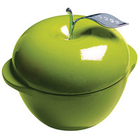 Lodge E3AP50 3.5 Qt. Green Color Enamel Apple Pot