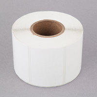 Tor Rey Z-12900024-KITUSA750 2 3/16 inch x 1 5/8 inch Blank White Thermal Label Roll, 750 Labels/Roll