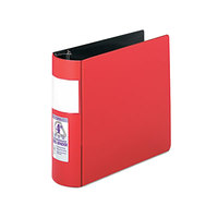 Samsill 17693 DXL Red Heavy-Duty Binder with 4 inch Locking D Rings